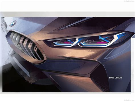 8 Series Sketches by Bmw 8 Series Concept 2017 Transportation Industrial