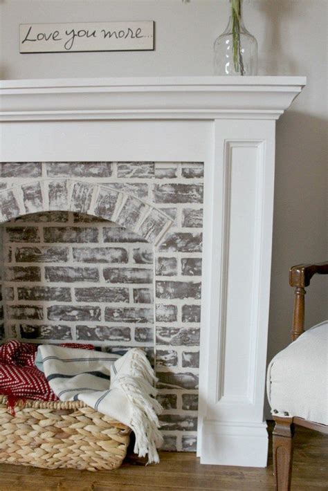 faux painting fireplace brick 25 best ideas about faux fireplace on