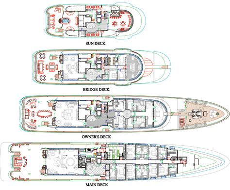 yacht cakewalk layout cakewalk setting new standards yachts international