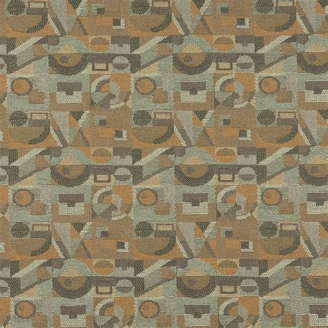 upholstery fabric geometric gold green and grey abstract geometric contract