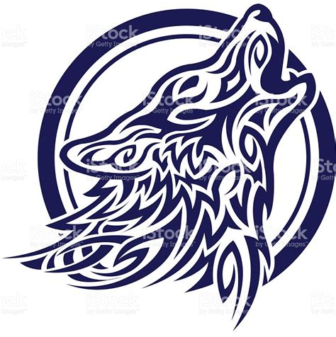 celtic tatoo de lobo vetor e ilustra 231 227 o royalty free