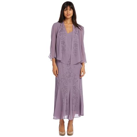 r m richards dresses r m richards chunky bead jacket dress free shipping today overstock 17429760