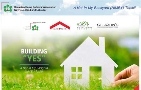 not in my backyard nimby building quot yes quot a not in my backyard nimby toolkit