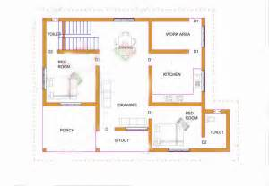 Normal Home Design Photos Normal House With Two Bedrooms And 62 Square Meters