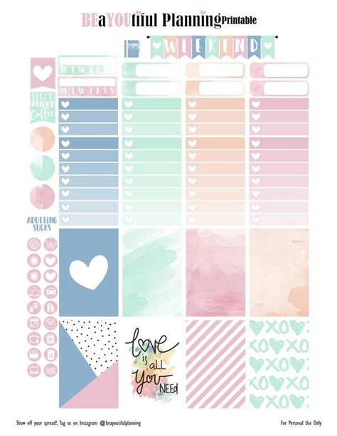 printable planner free pinterest 1000 images about planner newbie on pinterest planner