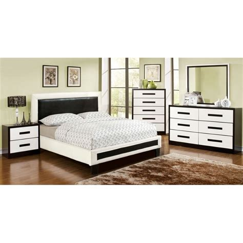 4 piece bedroom set furniture of america retticker 4 piece queen panel bedroom