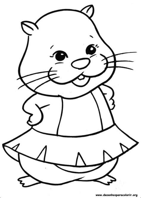 coloring pages zuzu pets zhu zhu pets para colorir