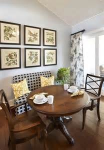 Small Dining Room Ideas by Straight Bench W Round Table Dining Room Chairs
