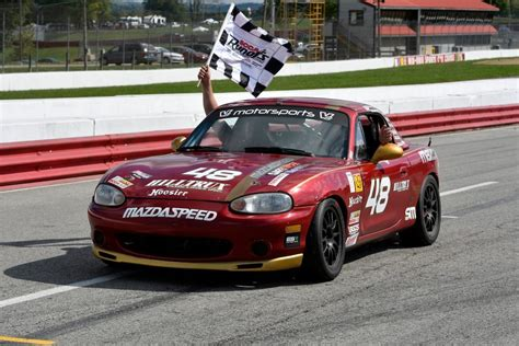 mazda racers mazda club racers shine at mid ohio and watkins glen