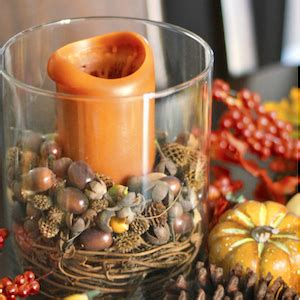 Acorn Vase Filler 100 Cheap And Easy Fall Decor Diy Ideas Prudent Penny