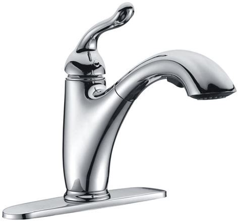 Tuscany Faucets Menards by Tuscany Brooksville Single Handle Pull Out Kitchen Faucet