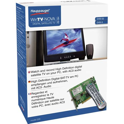 Tv Product Marketing Mba Intern by Hauppauge Wintv Hd S2 Tv Karten Intern