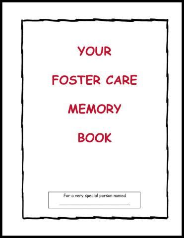 be told a foster child s recollection books your foster care memory book adoption and foster