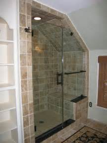 glass shower doors traditional bathroom new york