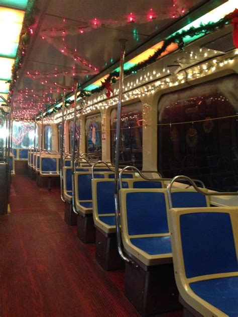 septa trolleys  jolly  merry  christmas