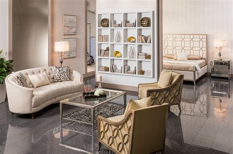 El Dorado Furniture Living Room by The Social Butterfly Room Modern Living Room Miami