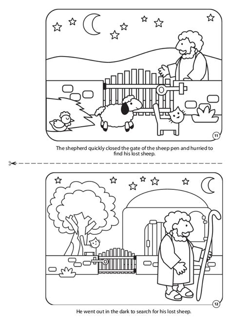 sheep pen coloring page coloring book jesus little lambs
