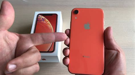 iphone xr  hour review coral stunner youtube