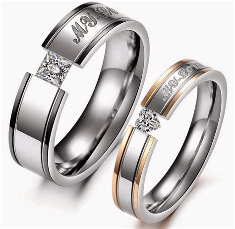 Wedding Rings Matching Sets by Matching Wedding Rings Sets Square Two Tone
