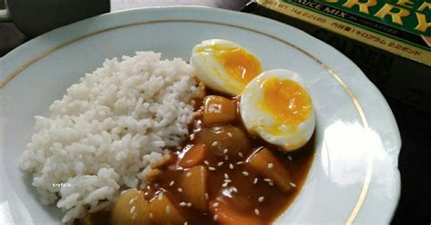 resep nasi jepang enak  sederhana cookpad