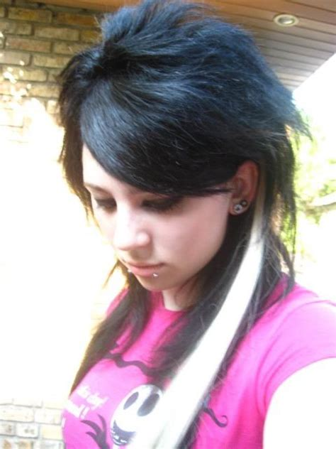 emo rock hairstyles i love you full punk girl hairstyle