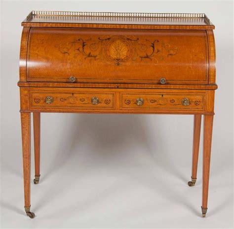 Edwardian Desk L by Edwardian Cylinder Desk By W J Mansell For Sale At