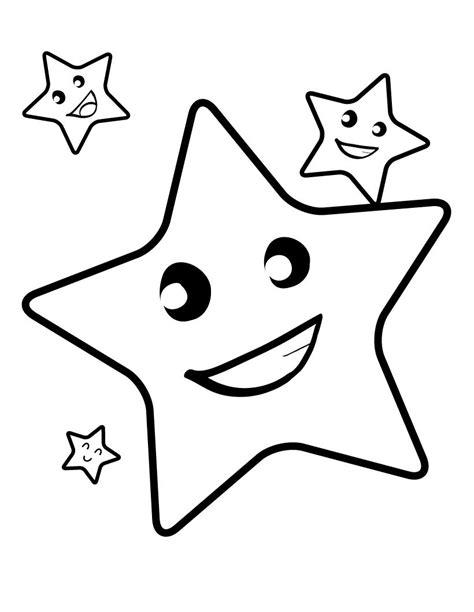 Imagenes Rockeras Para Imprimir | dibujos de estrellas para colorear pintar e imprimir gratis