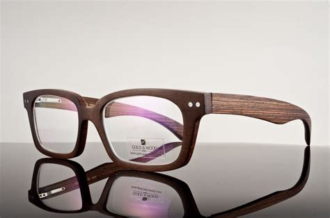 gold wood wooden glasses product