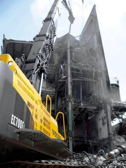 volvo ecchr high reach excavator construction equipment volvo heavy equipment mining