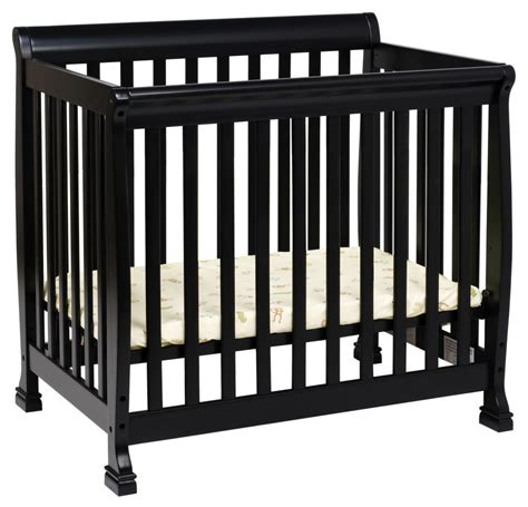 davinci mini crib davinci kalani mini crib black n cribs