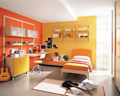 Yellow Orange Bedroom by 20 Stunning Bedroom Paint Ideas To Enhance The Color Of