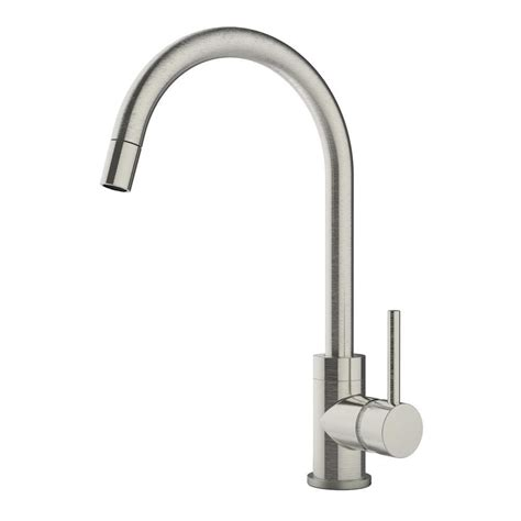 Symmons Kitchen Faucets Symmons Dia Single Handle Pull Sprayer Kitchen Faucet In Satin Nickel Spp 3510 Stn The