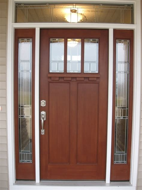home design ultra modern wooden doors with glass for