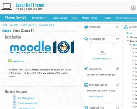 moodle themes professional 22 professional moodle themes templates free
