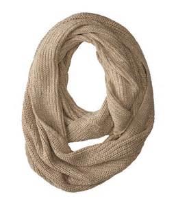 Calvin Klein Infinity Scarf Calvin Klein Shaker Stich Knit Chunky Infinity Scarf