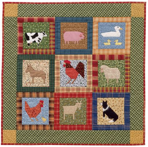 Farm Quilt Patterns by Farm Animal Quilt Patterns Patterns Kid