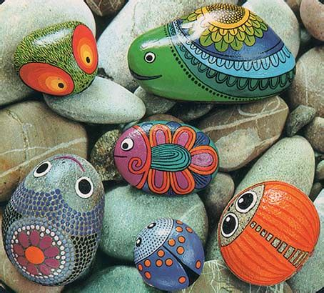 Rok Lukis the w s painted stones