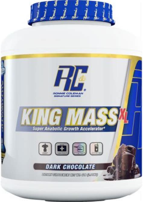 Rc Ronnie Coleman King Mass Xl 2 Lbs Eceran Penambah Berat Badan 1 king mass xl by ronnie colemand signature series at bodybuilding best prices on king massxl