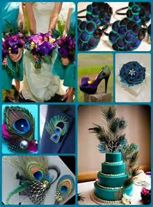 Steal worthy ideas for peacock wedding theme