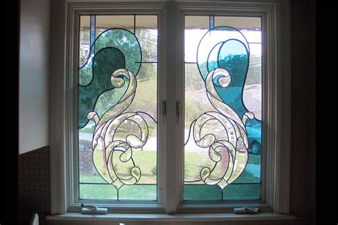 Handmade Glassware - custom stained glass windows painted light stained glass