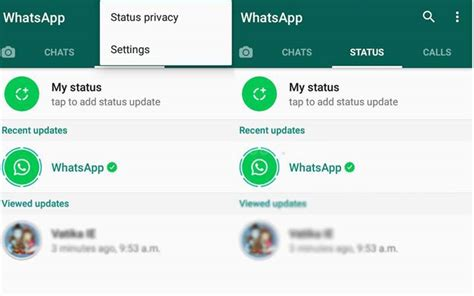 whatsapp android tech how to use whatsapp s new status feature pictures and more
