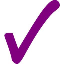 purple check mark  icon  purple check mark icons