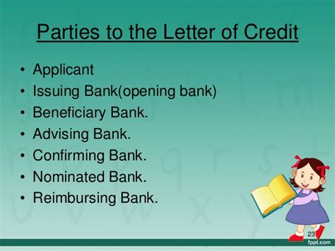 Letter Of Credit Nominated Bank import procedure and finance