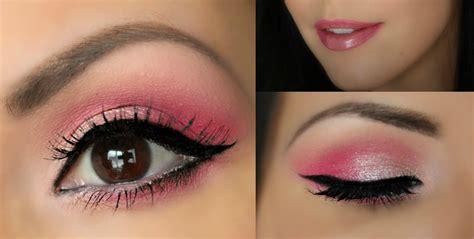 tutorial makeup eyeshadow pink valentine s day makeup pink full face tutorial youtube