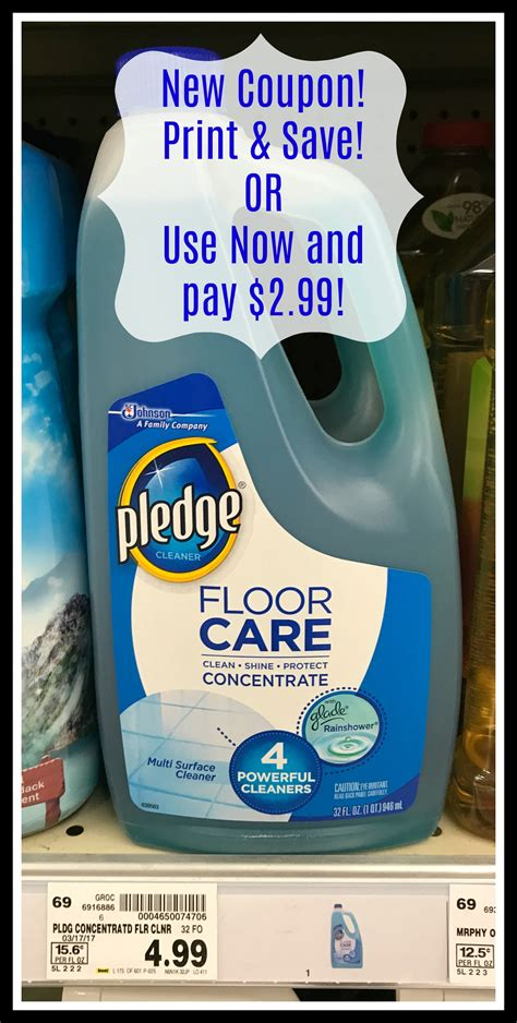Pledge Floor Care Coupon by Print Save Pledge Floor Care Coupon For Kroger Sale
