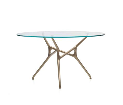 Branch Table by Branch Table By Cappellini Branch Bronzo Product