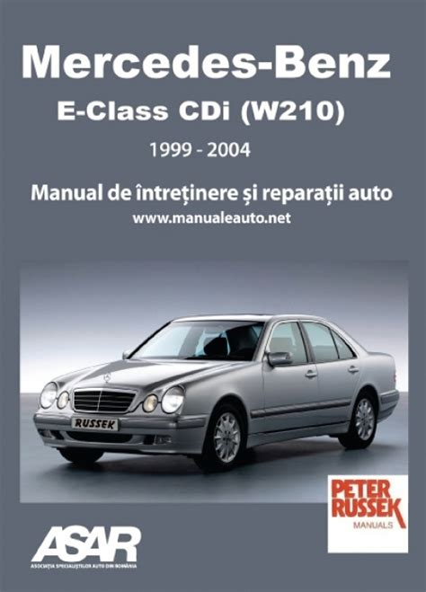 manual auto mercedes benz e class cdi w210 1999 2004