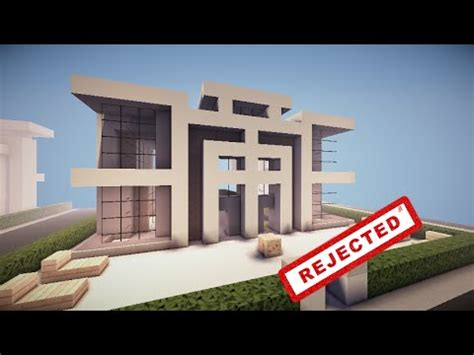 minecraft home design youtube minecraft rejected house designs episode 2 symmetrical