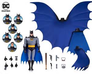 batman nightwalker dc icons series books batman the animated series expression pack