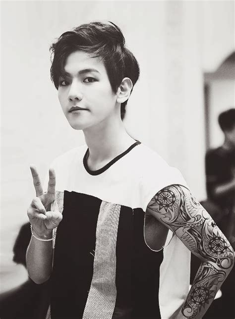 chanyeol tattoo edit baekhyun exo k exo tattos pinterest baekhyun and exo